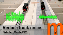 Reduce track noice low cost